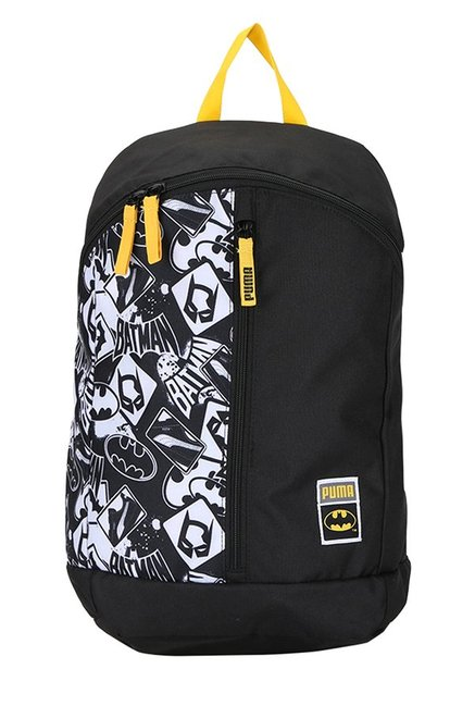 74be0c58a360 Buy Puma Batman Large Black Printed Polyester Backpack Online At ...