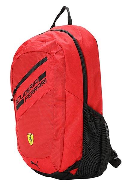 c548be07bd Buy Puma Ferrari Fanwear Rosso Corsa   Black Laptop Backpack Online ...