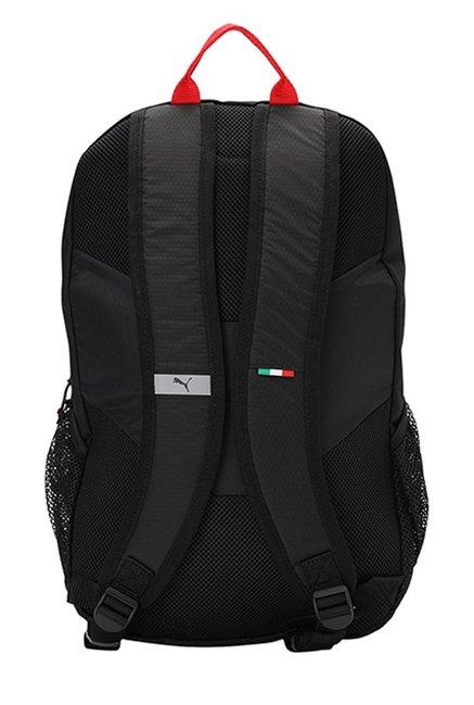 5d730e224160 Buy Puma Ferrari Fanwear Black Textured Laptop Backpack Online At ...