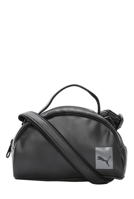 895cda5237 Buy Puma Prime Mini Black Solid Shoulder Bag For Women At Best Price   Tata  CLiQ