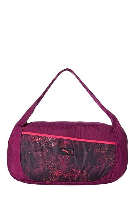 4e0c56eac500 Buy Puma Studio Barrel Purple   Love Potion Printed Shoulder Bag For Women  At Best Price   Tata CLiQ