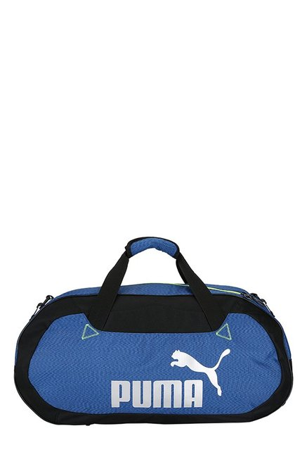 c179cc115b Buy Puma Active TR True Blue & Black Solid Polyester Gym Bag For ...