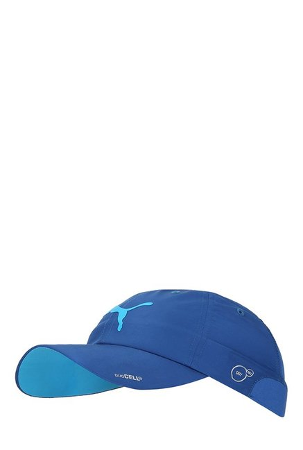 Puma Duocell Nrgy True Blue Solid Polyester Running Cap 1a773b38735