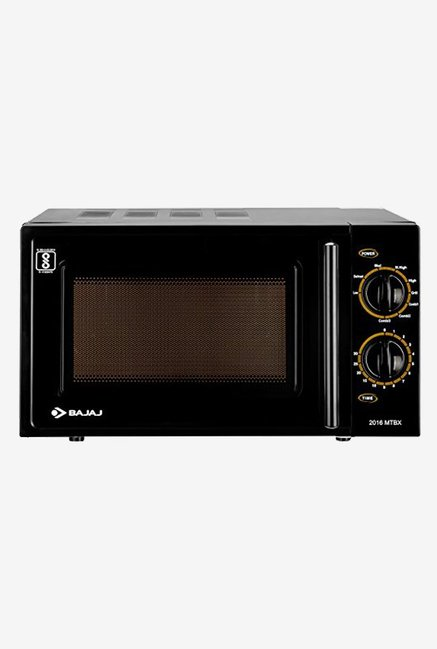 Bajaj 2005ETB 20L Grill Microwave Oven (Black)