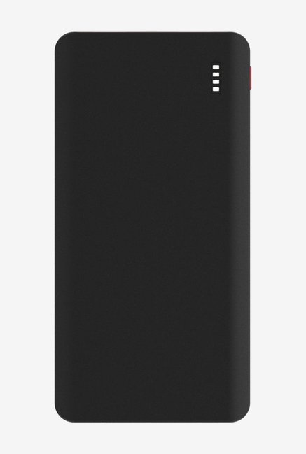 Syska Power Juice 20000 mAh Power Bank, Black Red