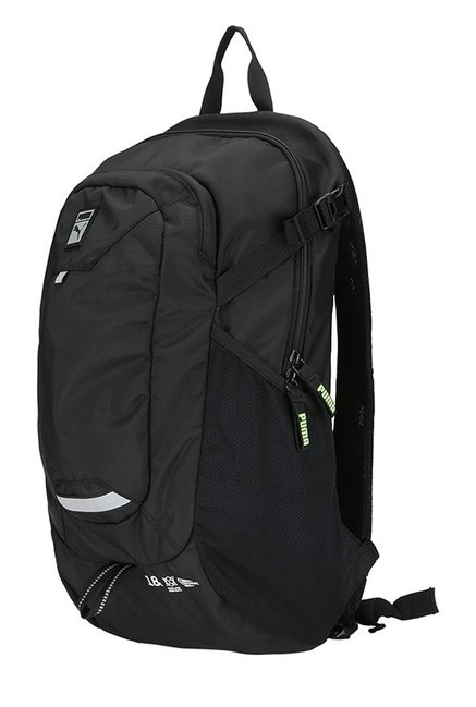 813d91eabd Buy Puma Trinomic Evo Black Solid Polyester Laptop Backpack For Men ...