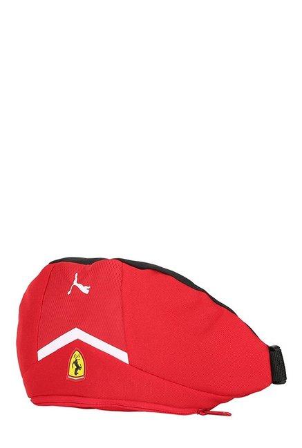 Buy Puma Ferrari Fanwear Rosso Corsa Textured Waist Pouch For Men At ... c28712da72