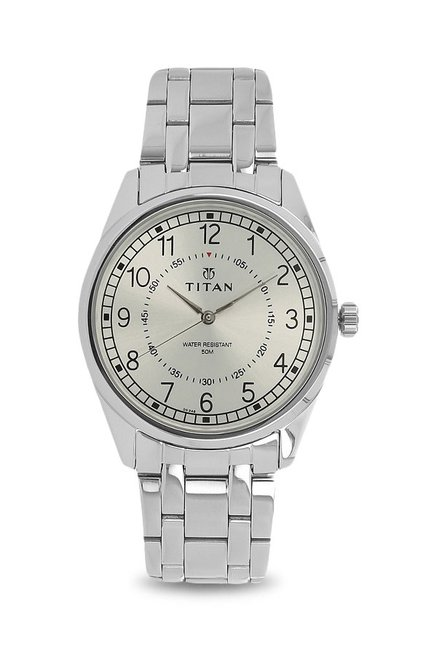 Titan Neo 1729SM01 Analog Silver Dial Men's Watch (1729SM01)