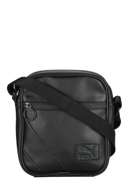 Buy Puma Originals Black Solid Sling Bag For Men At Best Price