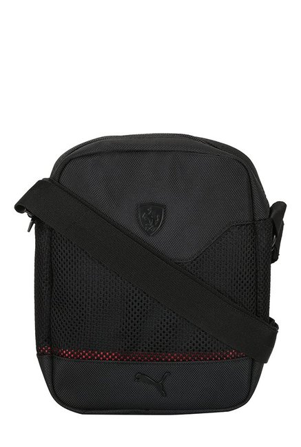 12ea810b297 Buy Puma Ferrari LS Black Polyester Sling Bag For Men At Best Price   Tata  CLiQ
