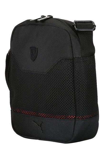 bb20747bcc Buy Puma Ferrari LS Black Polyester Sling Bag For Men At Best Price ...