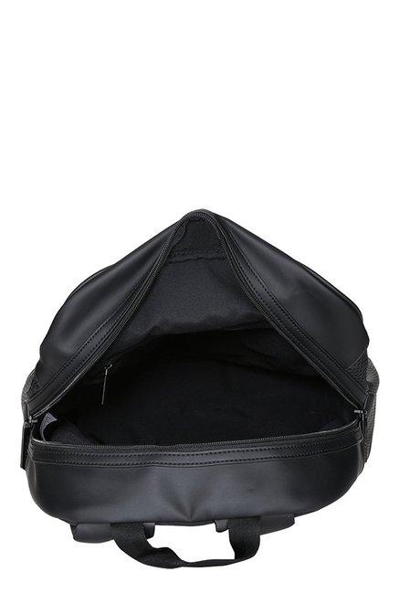 Buy Puma Ferrari LS Black Perforated Leather Laptop Backpack For Men ... fcb8ec7a7b
