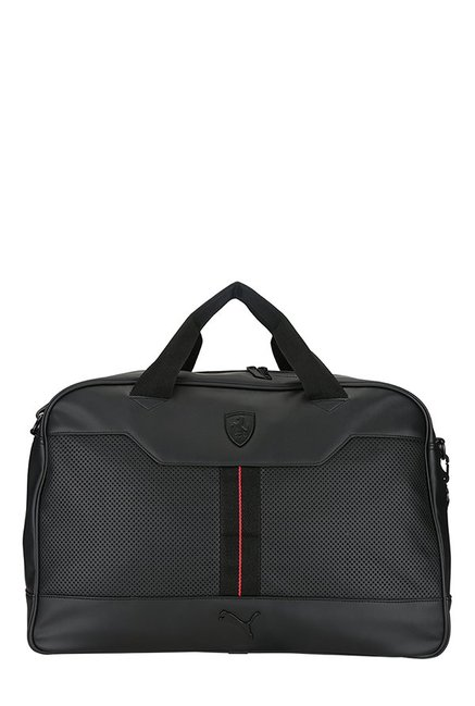 ee0f244dcdb6 Buy Puma Ferrari LS Black Perforated Messenger Bag For Men At Best Price   Tata  CLiQ