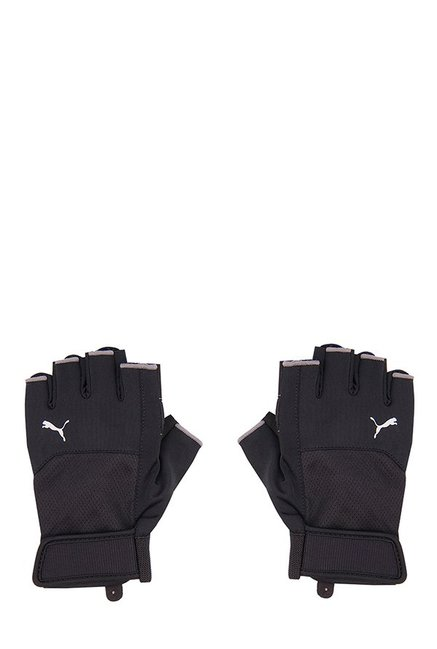 c71ffb9a222f Buy Puma TR Black Perforated Gym Gloves Online At Best Price   Tata CLiQ