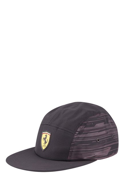 8bb60497737 Buy Puma Ferrari Fanwear Transform Black Printed Running Cap Online At Best  Price   Tata CLiQ