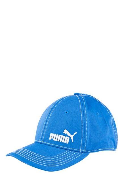 Buy Puma Lapis Blue Solid Cotton Gus Cap Online At Best Price ... 4d2a94b50b52