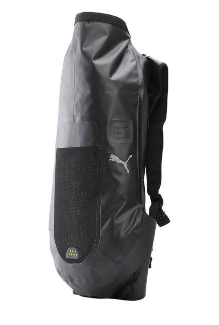 6ca19e5fe41 Buy Puma PR Waterproof Black Solid Nylon Backpack Online At Best ...
