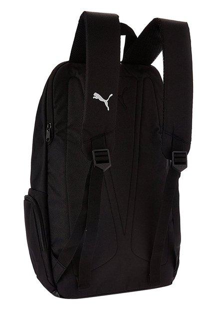 Buy Puma Elite Black Solid Polyester Backpack Online At Best Price ... 60c38fad9346c
