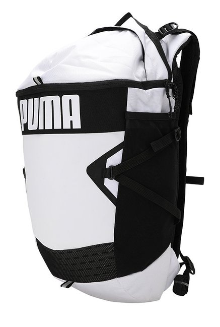 e709cf27e94a Buy Puma Stance White Solid Polyester Backpack Online At Best Price ...