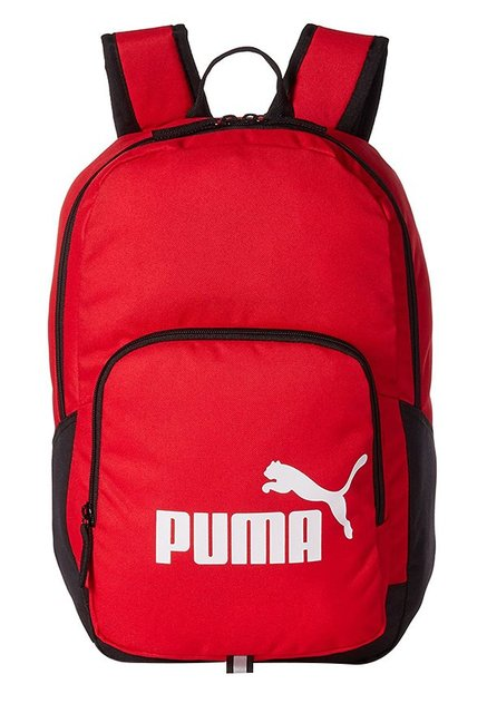 2ba83eb765 Buy Puma Phase Toreador Red Solid Polyester Backpack Online At ...