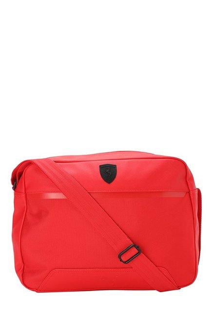 711af136509e5 Buy Puma Ferrari LS Reporter Rosso Corsa Laptop Messenger Bag ...