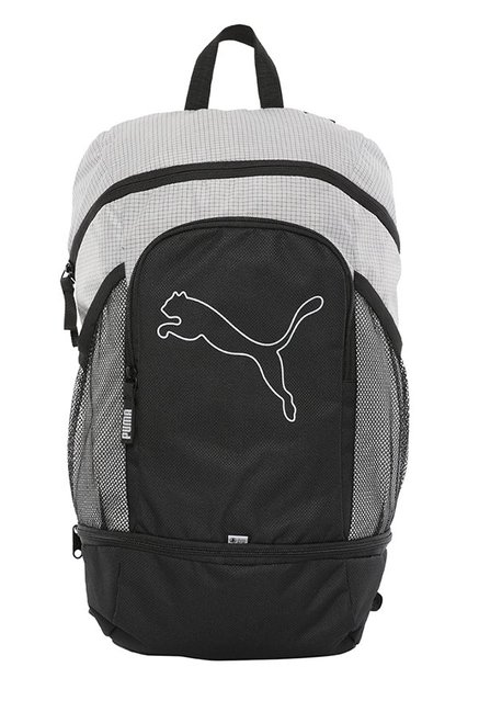 d11e9263a0471 Buy Puma Echo Special Black   White Solid Laptop Backpack Online At Best  Price   Tata CLiQ