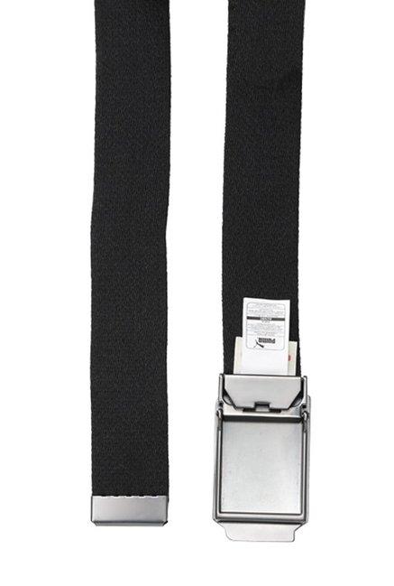 0851c2bd7cc98 Buy Puma Ferrari Fanwear Black Solid Polyester Narrow Belt Online At ...