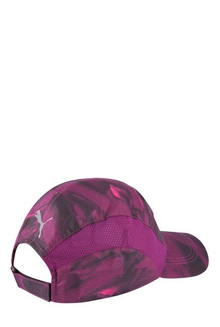 03721f7f8b4 Buy Puma Purple Printed Polyester Running Cap Online At Best Price ...