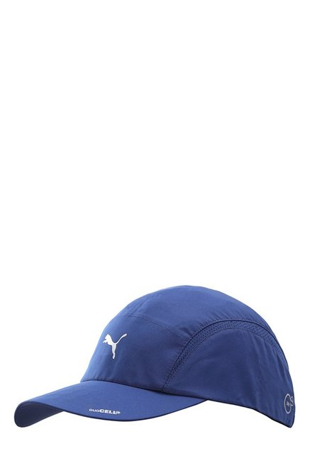 Buy Puma Duocell Tech Royal Blue Solid Polyester Running Cap Online At Best  Price   Tata CLiQ fda2f5cafb6