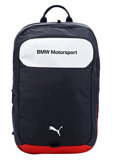 d77c31d05f4e Buy Puma BMW Motorsport Navy Solid Polyester Laptop Backpack Online At Best  Price   Tata CLiQ