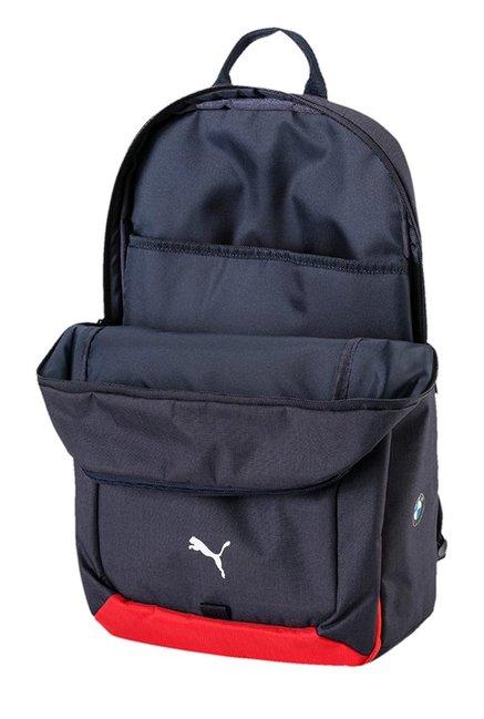 737d33aa9c91 Buy Puma BMW Motorsport Navy Solid Polyester Laptop Backpack Online ...