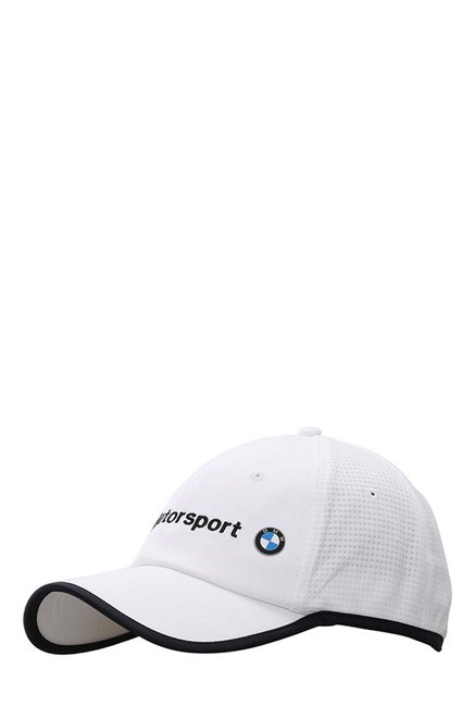differently 8930e 4d989 Buy Puma BMW MTS White Solid Cotton Gus Cap Online At Best Price   Tata CLiQ