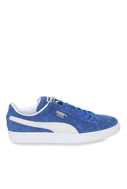 501f10ff75850 Buy Puma Classic Olympian Blue   White Sneakers for Men at Best ...