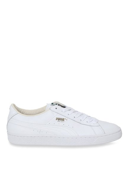 feb66406b86 Buy Puma Basket Classic LFS White Sneakers for Men at Best Price   Tata CLiQ