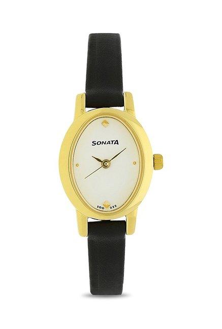 Sonata NK8100YL01 Analog Watch for Women