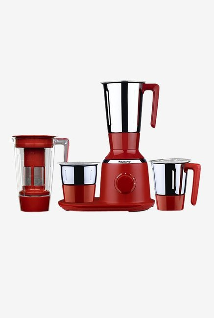 Butterfly Spectra 750 Watt Juicer Mixer Grinder(Red)