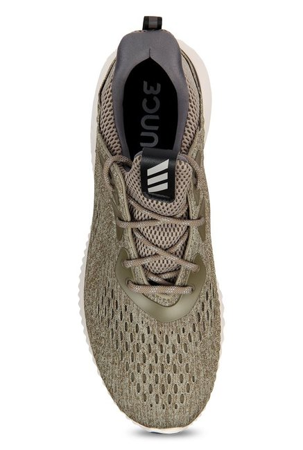5551f5583 Buy Adidas Alphabounce EM Olive Running Shoes for Men at Best Price ...