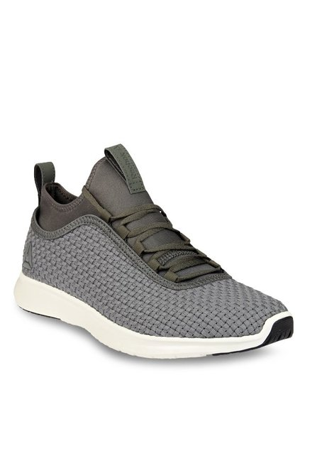 Buy Reebok Plus Runner Woven Stone Grey Running Shoes for Men at Best Price    Tata CLiQ 5a5f424e0b70
