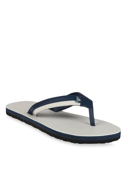 f82f92cdb Buy Adidas Brizo 3.0 Navy   Grey Flip Flops for Men at Best Price ...