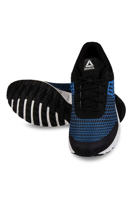 d95daaa8a Buy Reebok Run Escape LP Black   Awesome Blue Running Shoes for Men ...