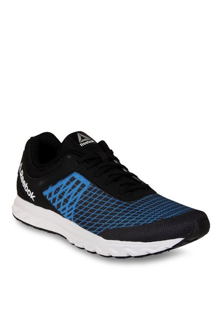 ac9d750a9 Buy Reebok Run Escape LP Black   Awesome Blue Running Shoes for Men at Best  Price   Tata CLiQ