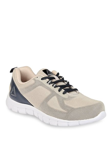 a18700ac568c Buy Reebok Super Lite Sand Stone   Indigo Running Shoes for Men ...