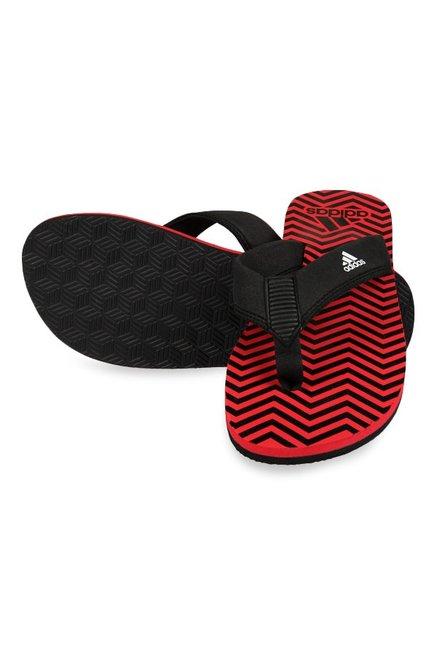 942aaae7f6c40a Buy Adidas Inert Black   Red Flip Flops for Men at Best Price   Tata ...