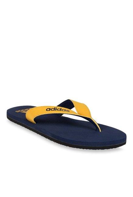 Compre Adidas Puka Chanclas Yellow & Navy precio Chanclas para hombres para al mejor precio 93dae43 - hotlink.pw