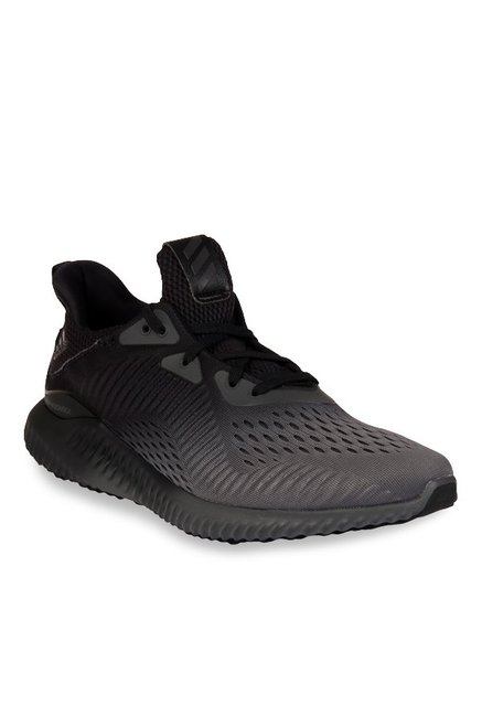 e557925b3ccf Buy Adidas Alphabounce EM Grey   Black Running Shoes for Men at Best Price    Tata CLiQ