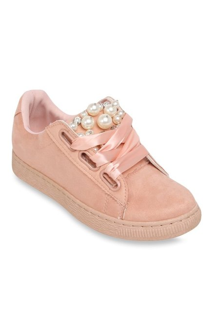Catwalk Baby Pink Casual Shoes