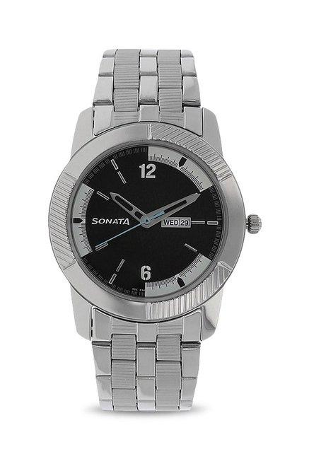 Sonata NK7100SM02 Analog Watch for Men image
