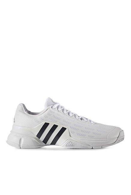 Buy Adidas Barricade 2016 White \u0026 Black