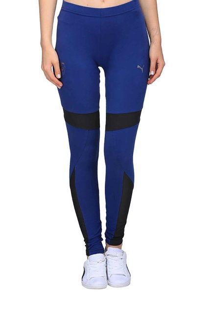 267d41647c34dc Buy Puma Blue Ferrari Leggings for Women Online @ Tata CLiQ
