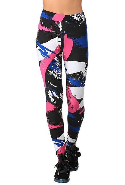 b71ba552973f44 Buy Puma Multicolor Printed Archive Logo T7 Leggings for Women Online @  Tata CLiQ